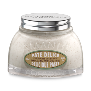 Almond natural body scrub, body exfoliator