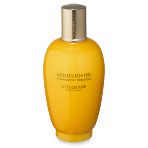 L'Occitane's Divine Lotion, a moisturising anti-ageing facial toner with natural ingredients