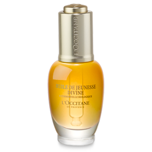 L'Occitane Divine Youth Oil, an anti ageing face oil with 100% natural oils
