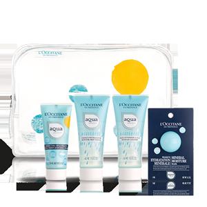 Aqua Réotier Cream Travel Collection