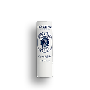 Natural lip balm with 10% of shea butter, remedy for dry lips awarded as best lip balm