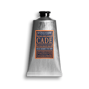 Cade moisturising aftershave balm with shea butter