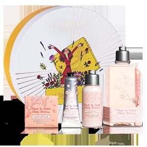 Cherrry Blossom Gift Set