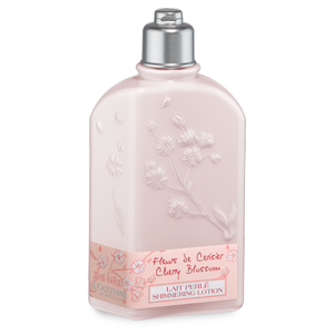 Shimmering cherry blossom body lotion fruity floral lotion