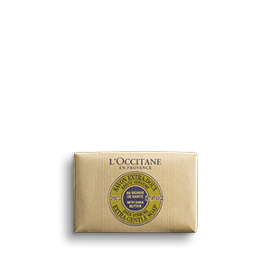 Gentle soap with citrus lemony scent for dry hands