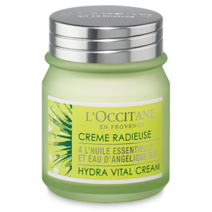 Angelica Hydra Vital Cream, light cream for ooily and combination skin types. Hydrating face cream
