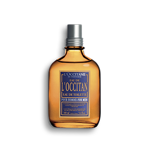 Warm and spicy eau de toilette for men L'Occitan with lavender