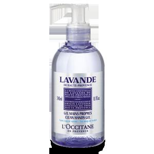 Lavender Clean Hand Gel with lavender oil
