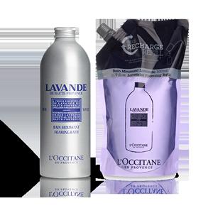 Lavender Foaming Bath Eco Duo