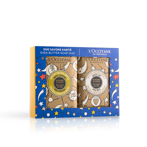 Limited Edition Design Shea Butter Soap Duo