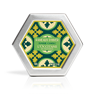Luxury pine scented home candles from L'OCCITANE Winter Forest