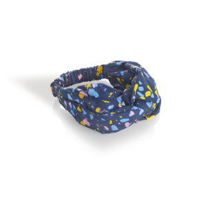 Navy Multi Twisted Headband