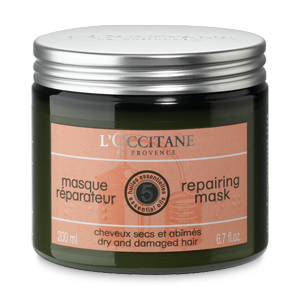 Repairing hair mask for dry and damaged hair
