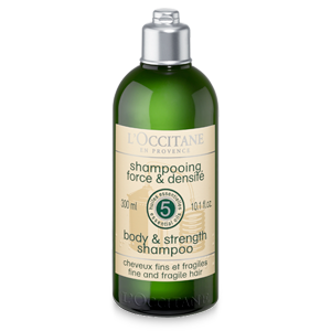 Strenghtening shampoo for fragile and weak hair. Add volume and strength to your hair