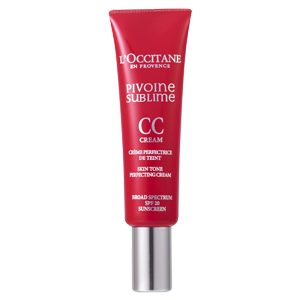 L'Occitane Tinted Medium CC Perfecting Cream, a tinted CC cream with SPF20 sun protection
