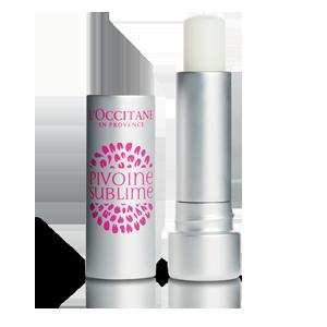 L'Occitane Tinted Lip Beauty Balm, a transparent lip balm for nourishing lips