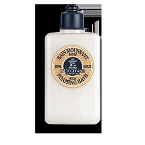 Rich Shea Butter bath soak for sensitive and dry skin for a bubble bath