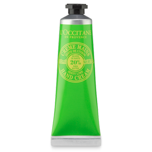 Zesty Lime hand cream with shea butter