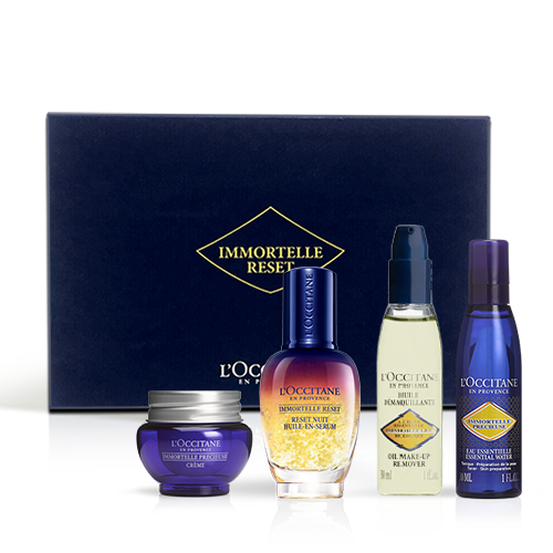 Immortelle Reset Face Care Routine