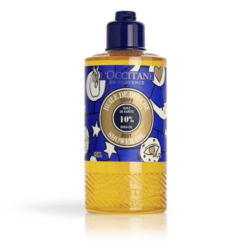 Limited Edition Design Shea Shower Oil