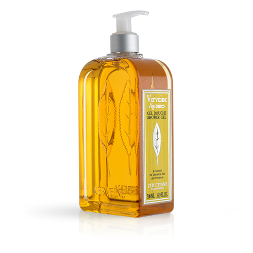 Luxury Size Citrus Verbena Shower Gel
