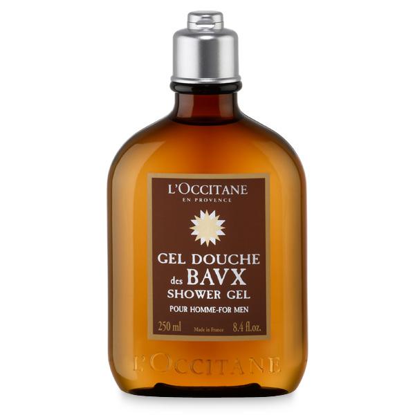 Eau des baux shower gel l 39 occitane en provence united - Rangement gel douche ...