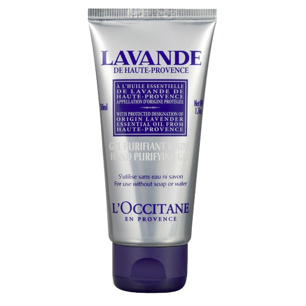 Lavender Hand Purifying Gel Organic Certified 50 ml