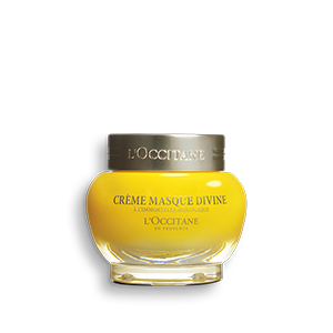 L'Occitane's Divine Cream Mask, moisturising anti-ageing face mask with essential oils