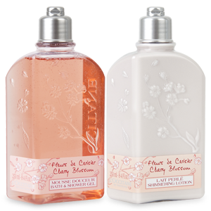 Cherry Blossom Body Care Duo