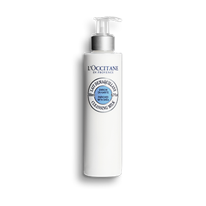 L'Occitane shea butter face cleansing milk