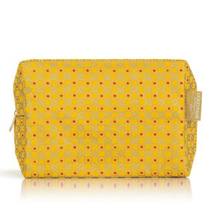 Gold Print Cosmetic Bag