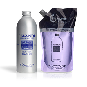 Lavender Foaming Bath Refill Duo