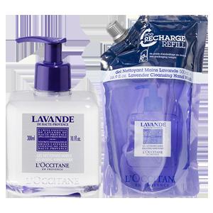 Lavender Hand Wash Eco Duo