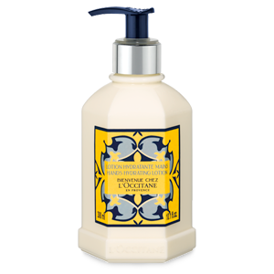 Luxury lemon verbena scented hydrating hand lotion from L'OCCITANE