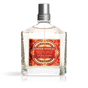Luxury candied fruit scented home perfume from L'OCCITANE
