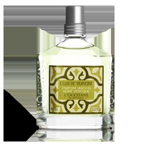 Luxury lemon verbena home perfume from L'OCCITANE