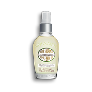 Almond body oil with omega 6 to moisturise skin