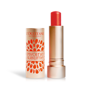 Pivoine Sublime Tinted Lip Balm Red Orange SPF25