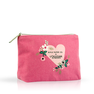 Pretty Pink Cosmetic Bag