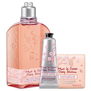 Sweet Cherry Blossom Trio