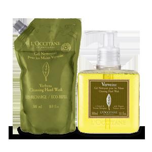 Verbena Hand Wash Eco Duo