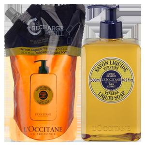 Verbena Liquid Soap Eco Duo