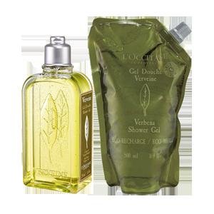 Verbena Shower Gel Eco Duo
