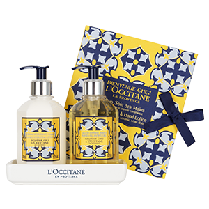 WELCOME TO L'OCCITANE Wash & Hand Lotion Duo