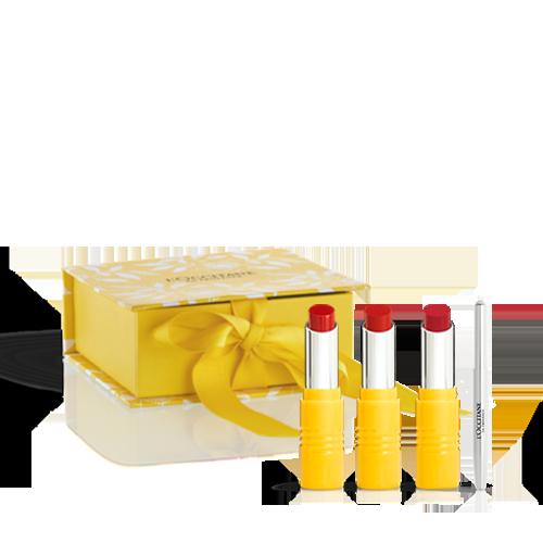 Alluring Red Lipstick Trio