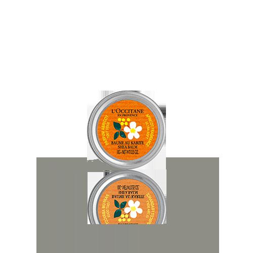 Limited Edition Design Apricot Shea Balm