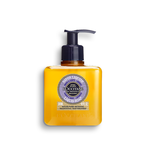 Shea Lavender Hands & Body Liquid Soap