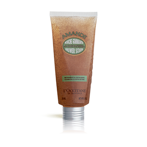Almond Shower Scrub for Exfoliated Skin 200ml