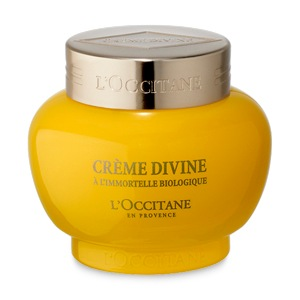 L'Occitane Divine Cream, anti aging face cream with essential oils