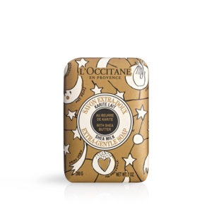 Limited Edition Design Shea Butter Extra Gentle Soap - Milk